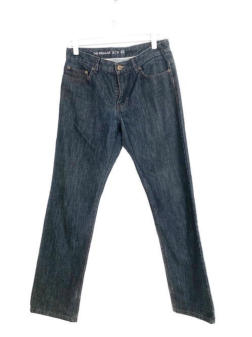 C &A Loose Fit Men's Jeans Dark Blue Size 32/32 #1125