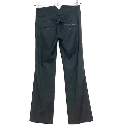 Sack's Black Pleated Trousers Size 40