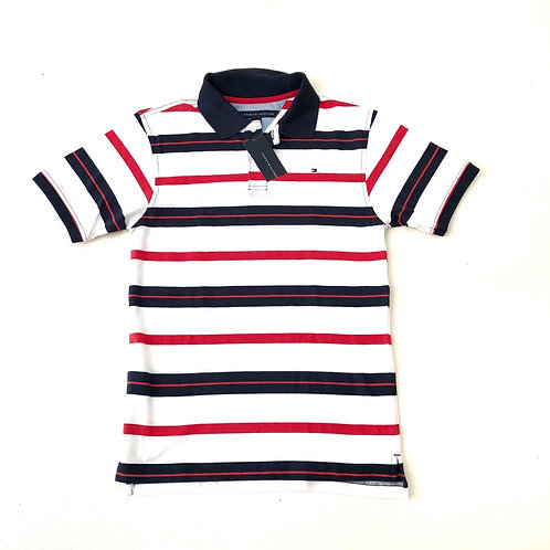 New Tommy Hilfiger Polo Shirt with Stripe  Size M