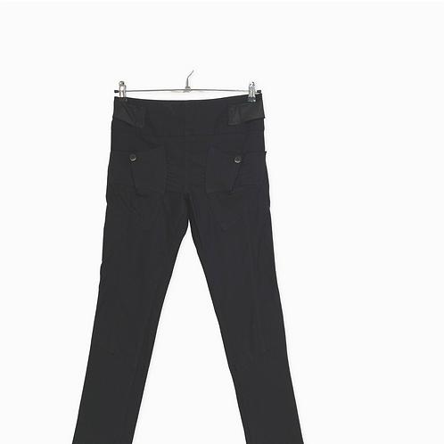 Profil High Waist Black Trousers Size 40