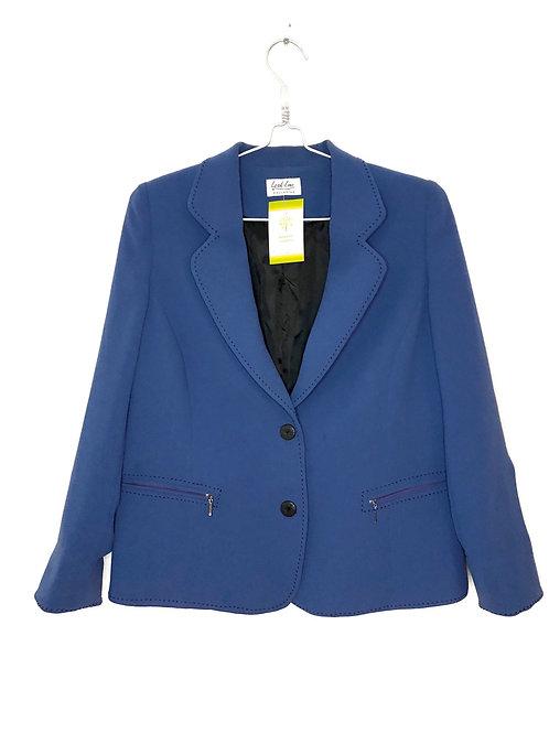 Woman's Line Jacket Blue