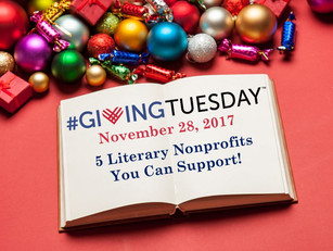 Literary Nonprofits for #GivingTuesday