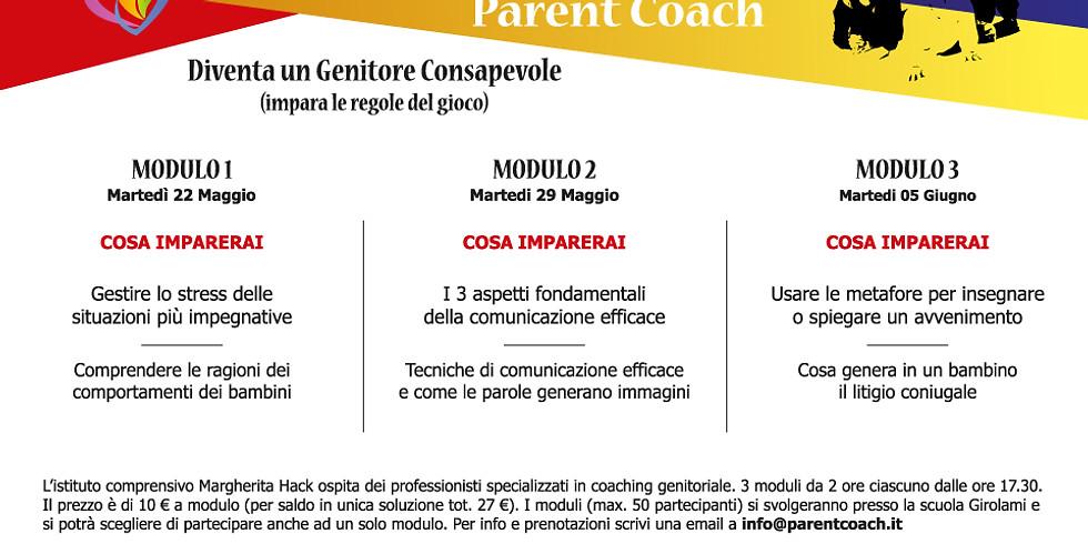 A scuola con Parent Coach (1° modulo)