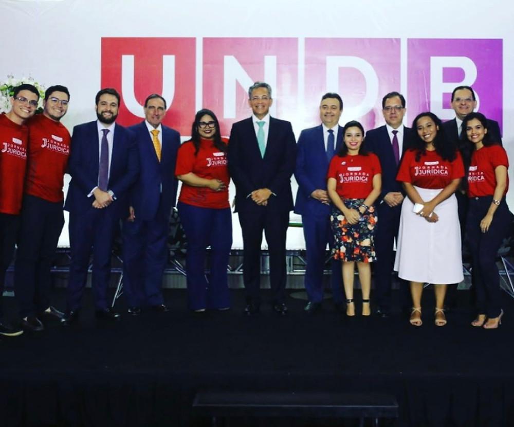 Curso de Direito da UNDB considerado o 2º melhor do país entre as particulares e que promove grandes eventos como a Jornada Jurídica anual que reúne grandes juristas do país e do mundo.