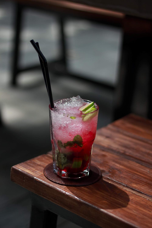 #drink #refreshingdrink #strawberry #mojito