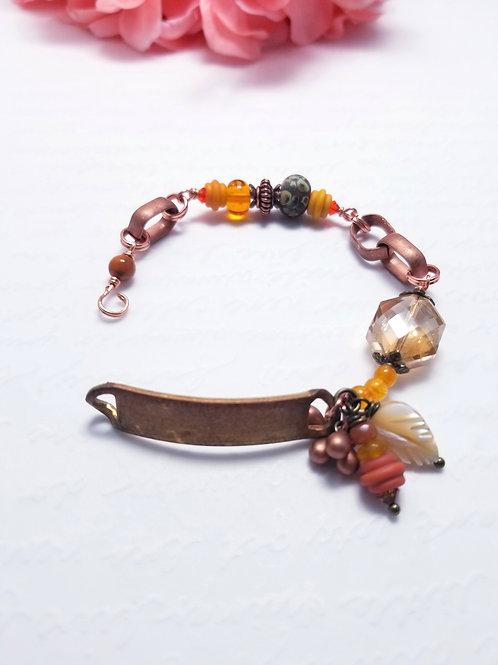 Gypsy Winter ID bracelet
