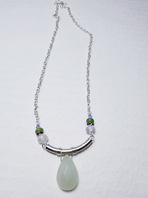 Winter  Verdis Simple Drop Necklace