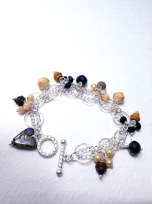 Winter Affair Dangle Bracelet