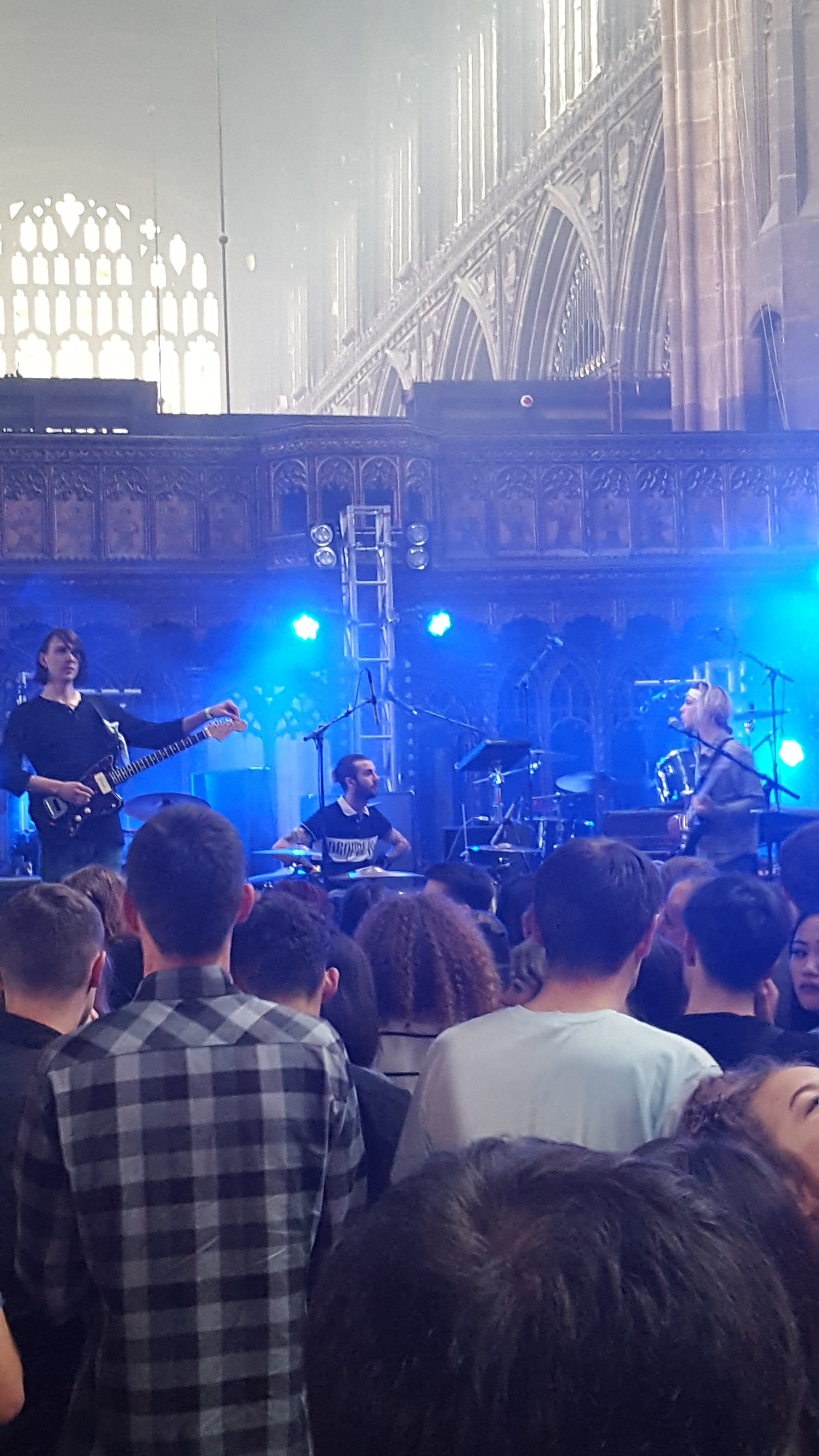 The Hunna Manchester Cathedral