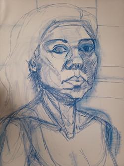 Pandemic Self-Portrait 1
