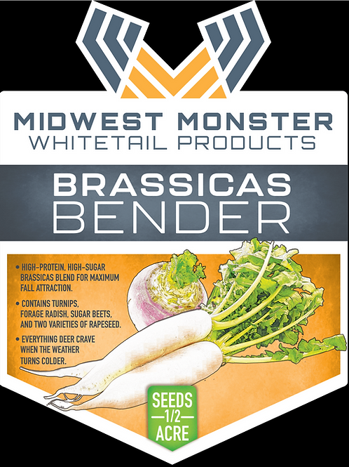 Brassicas Bender - 1/2 acre bag