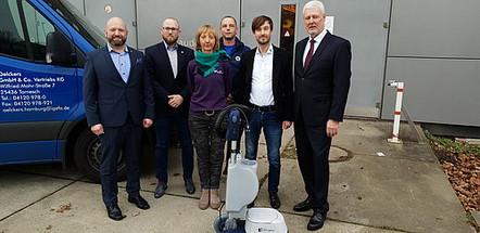 Premium-Fördermitglied Oelckers unterstützt mit neuester Orbitaltechnik
