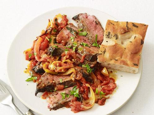 NYC Style Steak Pizzaiola