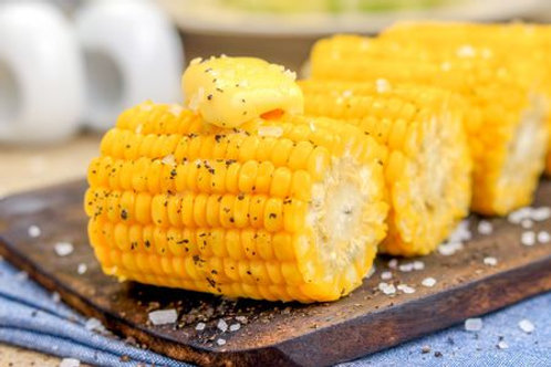Corn Steamed