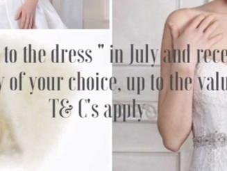 """""""Yes to the Dress"""" July Promotion"""
