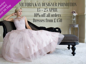 New Designer Promotion – Victoria Kay Bridal Collections