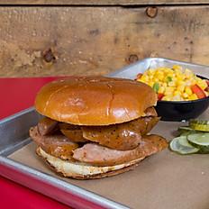 Jalapeno Hot Link Sandwich