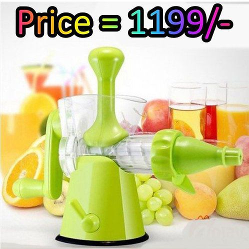 Kitchen Star Manual Juicer - Large