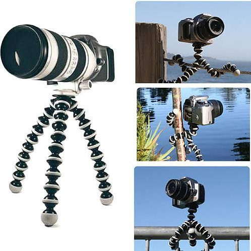 Gorilla Foldable SMALL Flexible Camera and Mobile Professional Tripod Stand