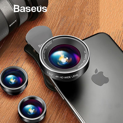 3 In 1 - Clear Zoom Mobile Camera Lens Selfie Lenses