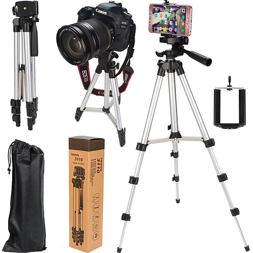 Tripod Stand For DLSR Camera With Mobile Holder - 3110 / 3120