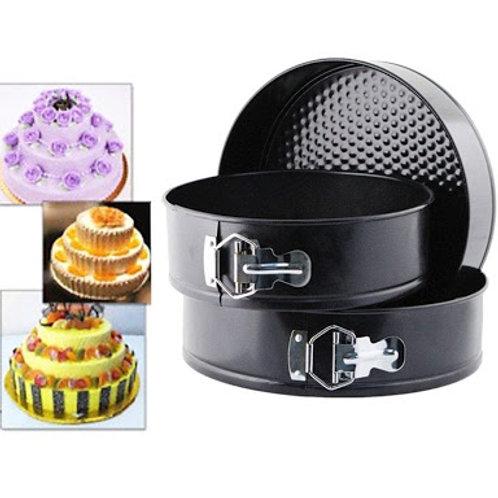 3 Pcs Shape Cake Mould Baking Tool Imported Premium Quality