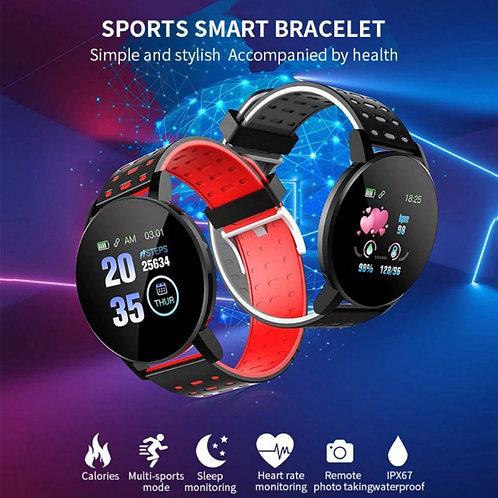 Smart Watch Sports Heart Rate Bracelet - 119 Plus