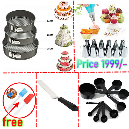 Pack Of 5 Cake Making Deal
