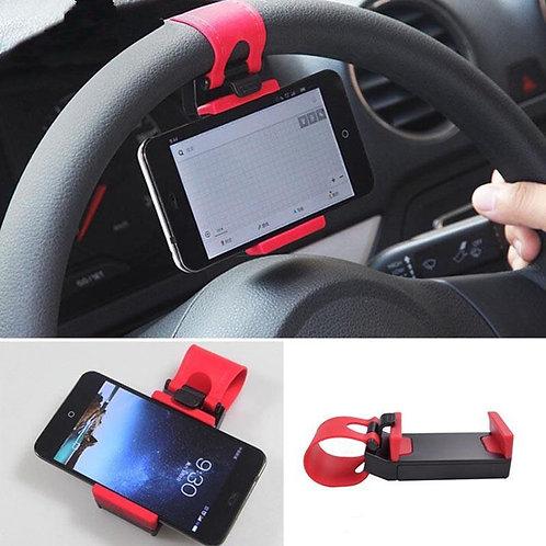 Car Steering Wheel Mobile Holder