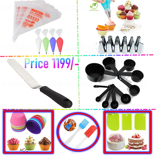 Pack Of 7 Cake Making Deal