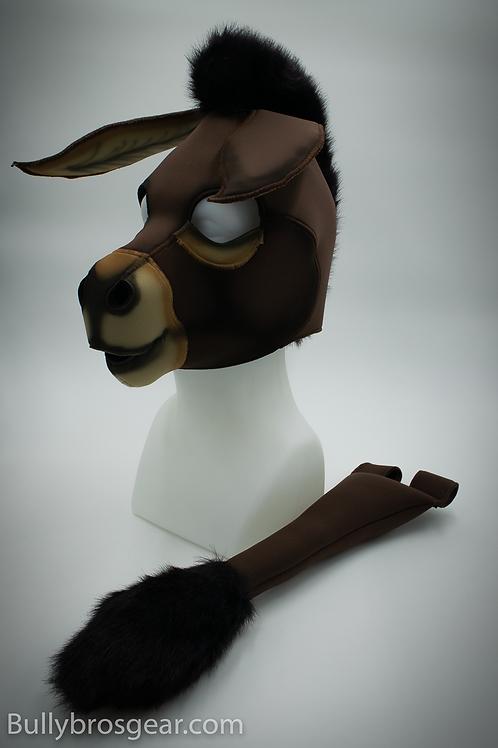 Airbrushed Neoprene Donkey Hood & Tail