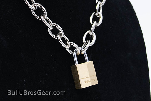 Locking Oval-Chain Collar