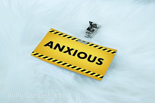 Anxious Pet Tags