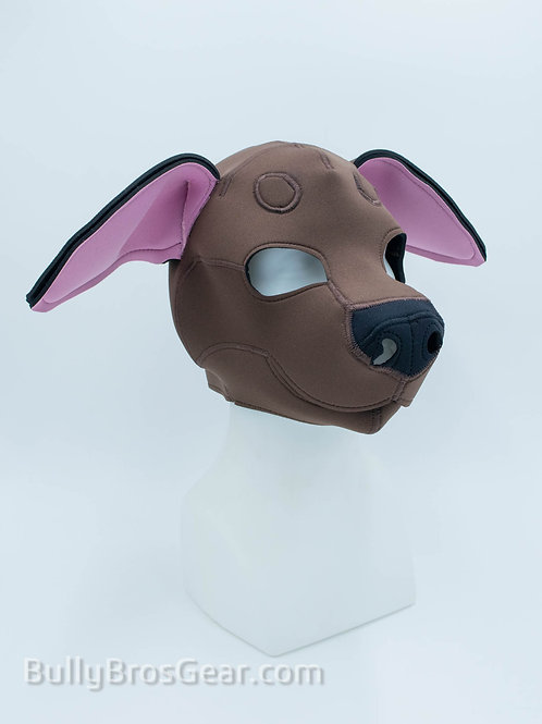 Chocolate Lab Neoprene Pup Hood