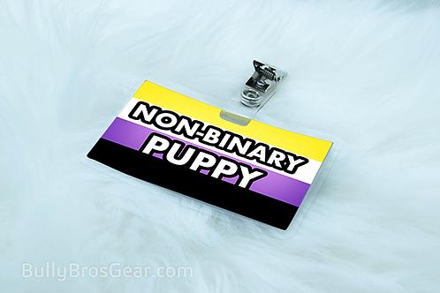 Non-Binary Pride Pet Tags