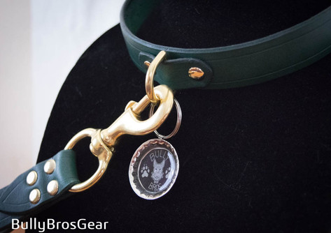 Emerald Collar & Control Leash