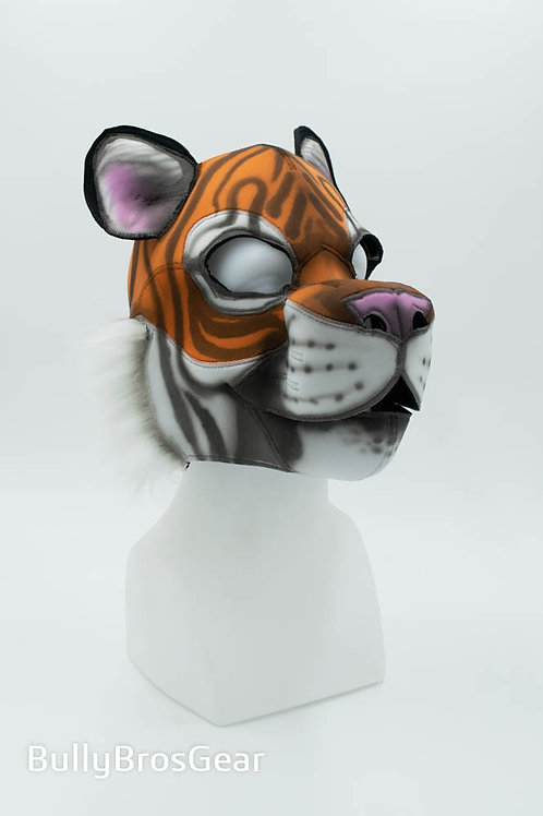 Airbrushed Neoprene Tiger Hood