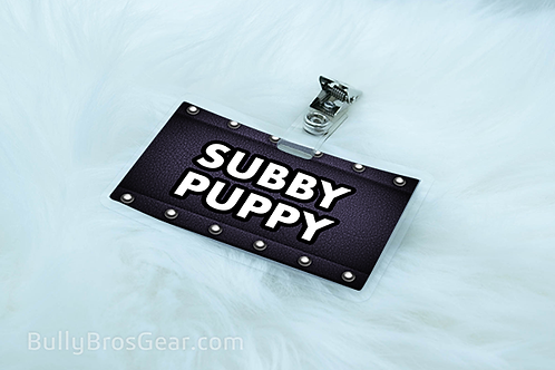 Subby Pet Tags
