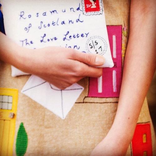 Letter Clutch Bag