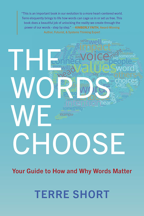 New Book: The Words We Choose