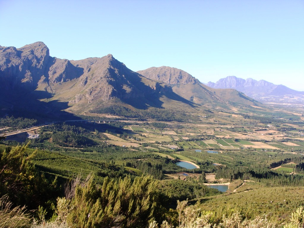 Top of Du Toit`s Kloof Pass