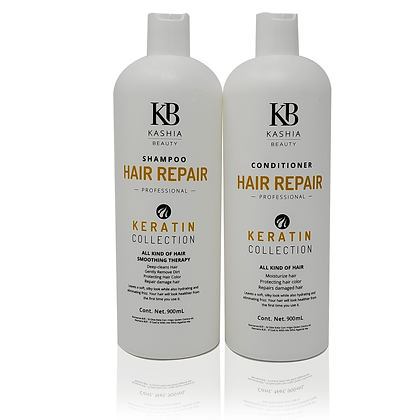 Hair Repair Shampoo & Conditioner by Kashia Beauty