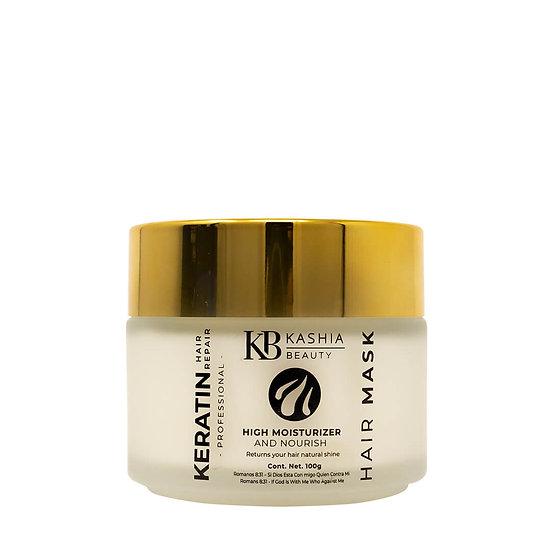 Keratin vegetal Hair Mask 100g by Kashia Beauty