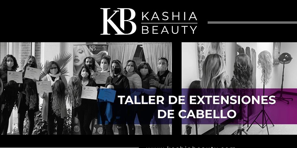 Taller de Extensiones de Cabello de Kashia Beauty