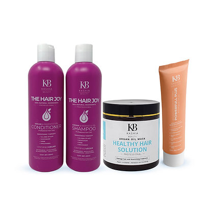 Kashia Beauty Curls Collection with Argan Oil