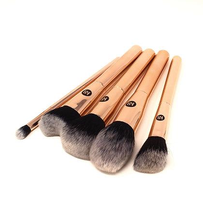 Makeup brushes set de 5 pieces by Kashia Beauty