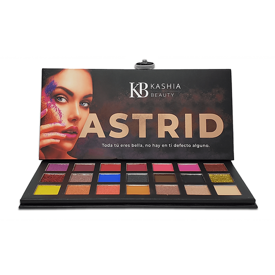 Mineral Eyeshadow Astrid Palette by Kashia Beauty