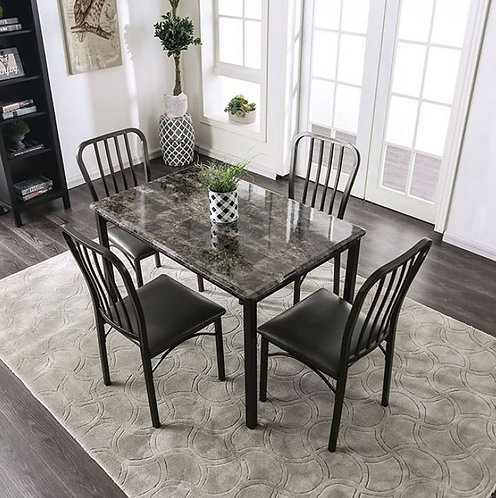 Marble 5 PC Dining 3731