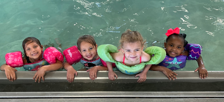 Our littles swimming :)