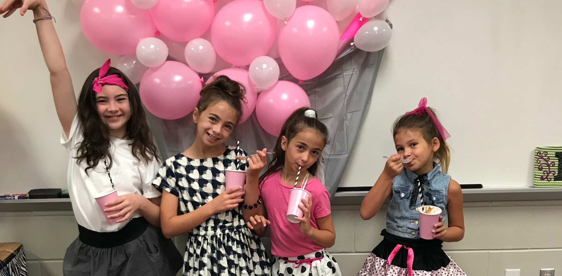 50's day at American Girl Camp